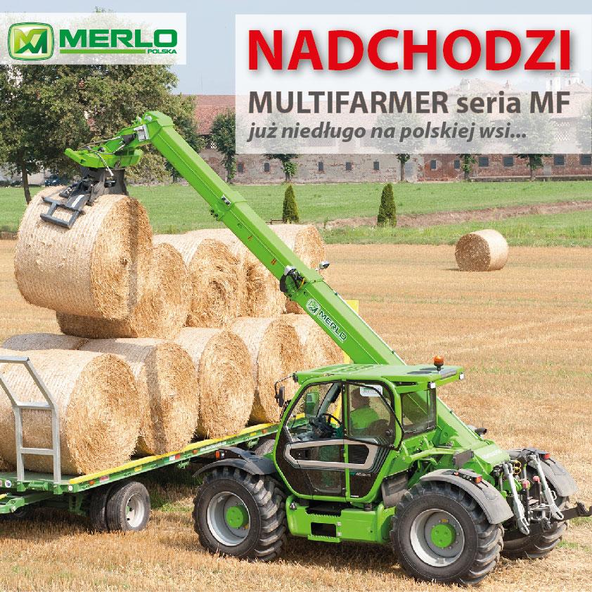 Groovy MERLO MULTIFARMER z nowej serii MF 40 KL69